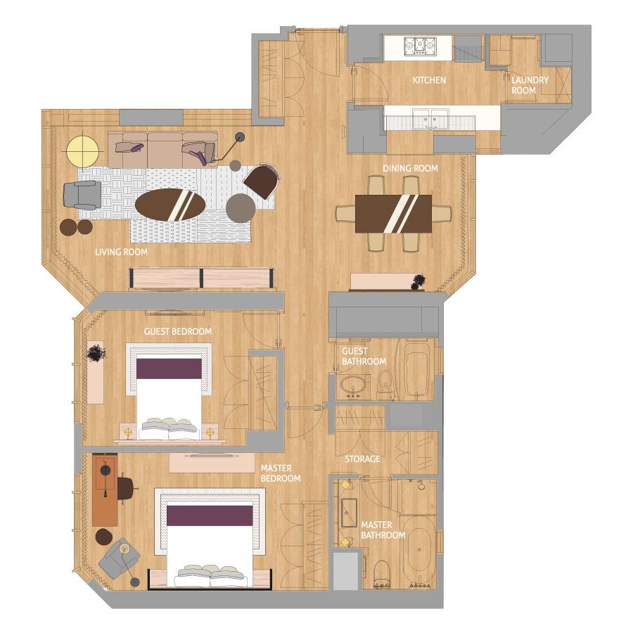 北京嘉里公寓